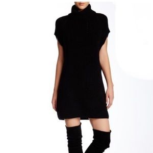 Vince cowl neck tunic sweater